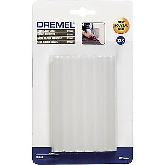Dremel GG11 Hot melt lijmsticks 11 mm 100 mm Transparant 125 g 12 pc(s)