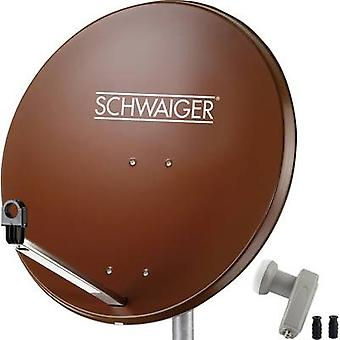 Schwaiger SPI9962SET2 SAT-Anlage Empfänger Anzahl Teilnehmer 2 80 cm
