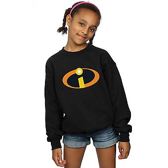 Disney Girls The Incredibles Costume Logo Sweatshirt