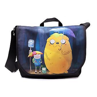 Adventure Time Finn en Jake Totoro Messenger Bag - meerkleurige (MB1MJWADV)
