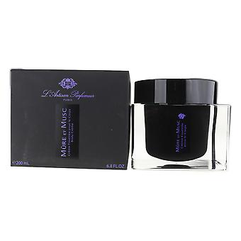 L'Artisan Parfumeur Mure et Musc Body Creme 6.8Oz/200ml  NEW