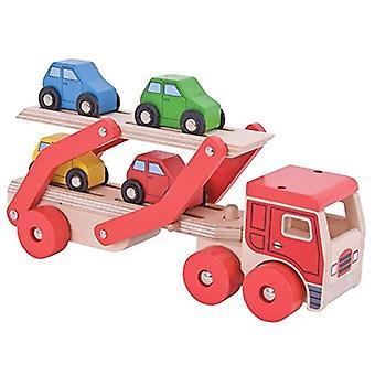 Bigjigs hračky transportní automobil