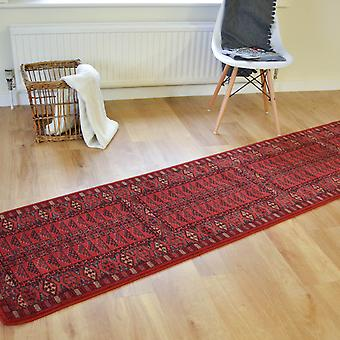 Royal Kashqai Hallway Runners 4346 300 In Red