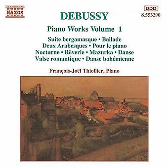 C. Debussy - Debussy: Piano Works, Vol. 1 [CD] USA import