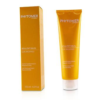 Phytomer Sun Radiance Self-tanning Cream (for Face And Body) - 125ml/4.2oz