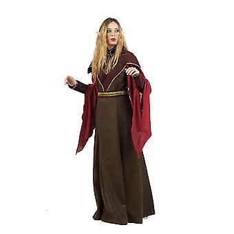 Magicien de druide elfe costume Lady Mage
