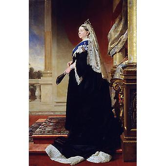 Queen Victoria, Heinrich von Angeli, 60x40cm