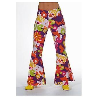 Vestuario de la mujer pantalones Hippie flor de damas de amor
