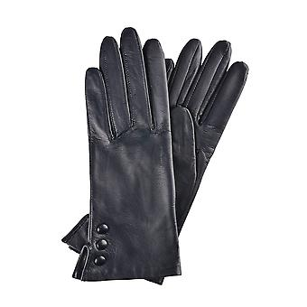 Beatrice Button szczegółów rękawiczki skórzane marynarki wojennej