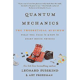 Mecânica quântica - o mínimo teórico por Leonard Susskind - arte