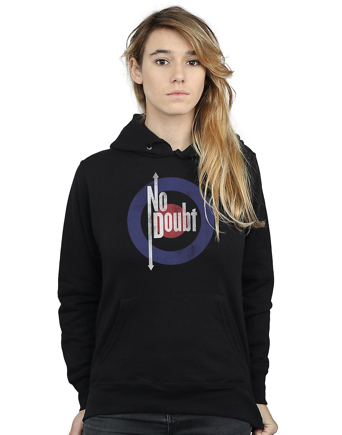 No Doubt Women's Quadro Distressed Hoodie