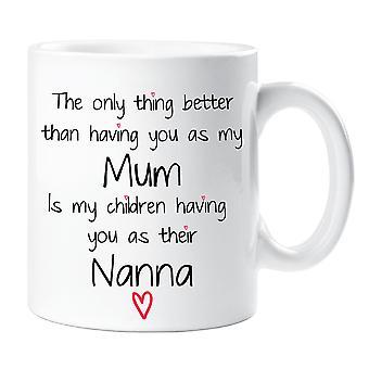 Mamá Nanna a mi taza de niños