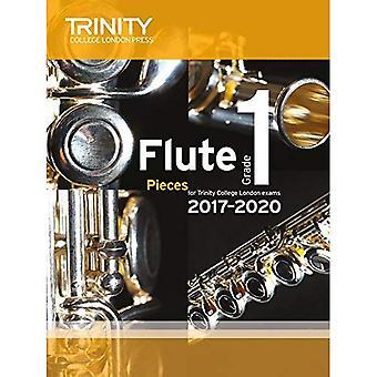 Trinity College London: Flöjt examen bitar Grade 1 2017 – 2020 (poäng & del)
