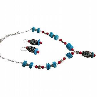 Koral w prezentowym na ręcznie robione twórcze Biżuteria turkus pierścienie