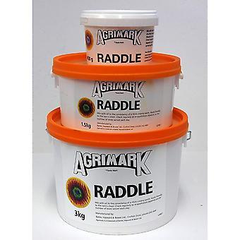 Agrimark får farvning Raddle pulver