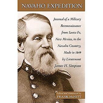 Navajo ekspedisjonen: Tidsskrift for en militær rekognosering fra Santa Fe, New Mexico, til Navaho landet, i 1849