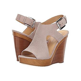 Michael Michael Kors Womens Josephine Leather Peep Toe Casual Ankle Strap San...