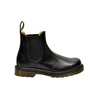 Dr. Martens 2976smothblack Women-apos;s Black Leather Ankle Boots