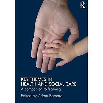 Klíčová témata ve zdravotnictví a sociální péči