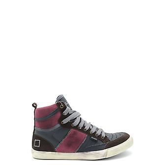 D.a.t.e. Ezbc177007 Men's Multicolor Leather Hi Top Sneakers