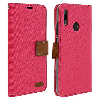 Huawei P Smart 2019 and Honor 10 Lite Case Cover, Pink, Roar, Card Holder