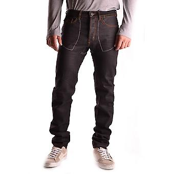 Against My Killer Ezbc272003 Men's Black Denim Jeans