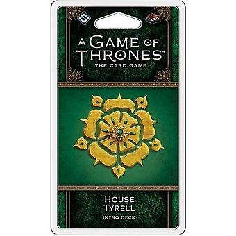 En Game of Thrones LCG 2nd Edition-hus Tyrell Intro Deck Card spil