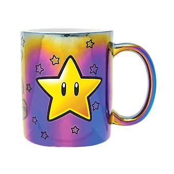 Super Mario Star Power Mug métallique