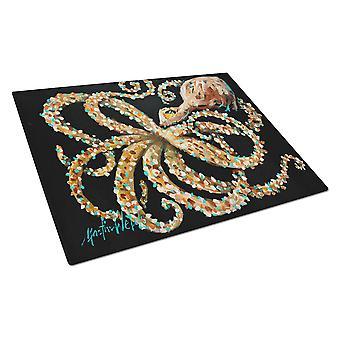 Carolines Treasures MW1275LCB øje på dig Octopus glas skærebræt stort
