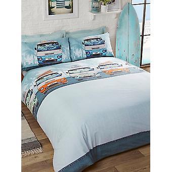 Campervan Duvet Cover and Pillowcase Set