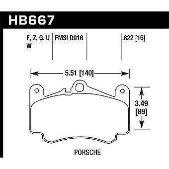 Hawk performance HB667Z. 622 PC