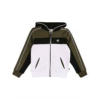 Timberland Boys Colour Block Hooded Sweatshirt