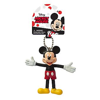 Key Chain - Disney - Mickey Mouse Bendable New Toys Gifts Licensed 25033