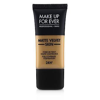 Make-up voor ooit mat fluweel huid volledige dekking Foundation-# Y405 (gouden honing)-30ml/1oz