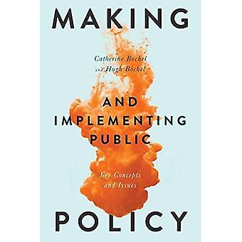 Gestaltung und Umsetzung von Public Policy: wichtige Begriffe und Themen