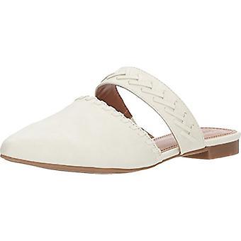 Indigo Rd. Womens Gabela Leather Pointed Toe Slide Flats