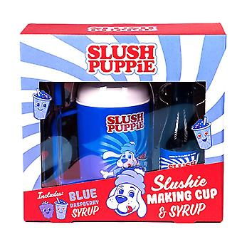 泥浆小狗斯卢希制作杯和糖浆礼品套装 - 树莓