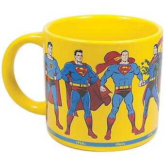 Mug - DC Comics - Superman Through the Years New Gifts Toys Licensed 2966