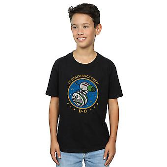 Star Wars The Rise Of Skywalker D-O First Resistance Crew Boys T-Shirt