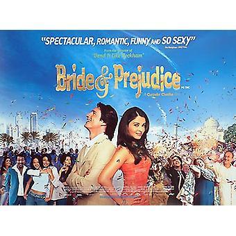 Morsian ja Predjudice (kaksipuolinen) alkuperäinen elokuva juliste