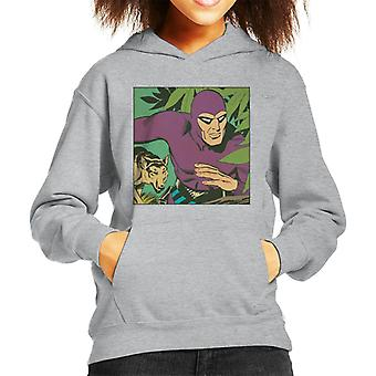 The Phantom & His Wolf Devil Kid's Hooded Sweatshirt