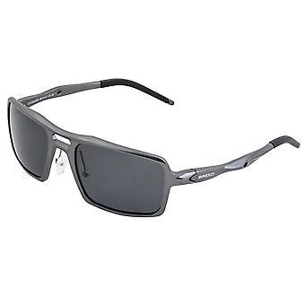 Breed Orpheus Aluminum Polarized Sunglasses - Gunmetal/Black