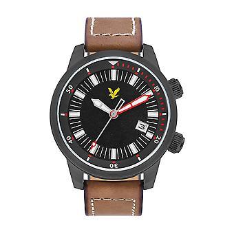 Lyle & Scott LS-6010-04 Men's Border Black Dial Wristwatch