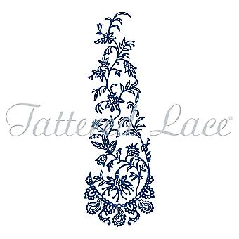 Tattered Lace Paisley CLIMBER, Silver