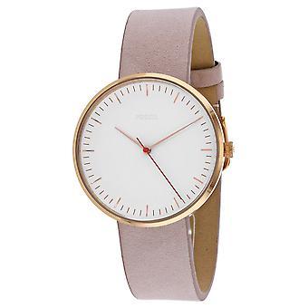 Fossil Women's Essentialist White Dial Watch - ES4426