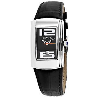 Jovial Women's Classic Black Dial Watch - 08007-LSL-04