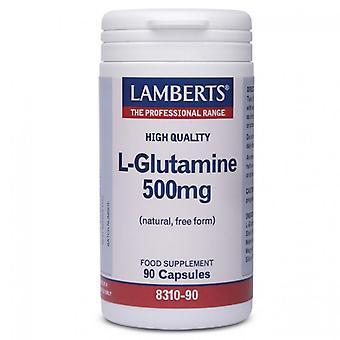 Lamberts L-Glutamin 500mg Caps 90 (8310-90)