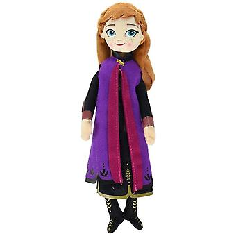 Disney, Frozen 2/Frost 2, talking Doll-Anna