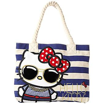 Tote Bag - Hello Kitty - w/Glassed Nautical