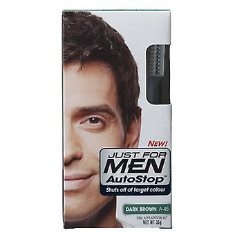 Just For Men 3 X Just For Men AutoStop Hair Colour - A45 Dark Brown